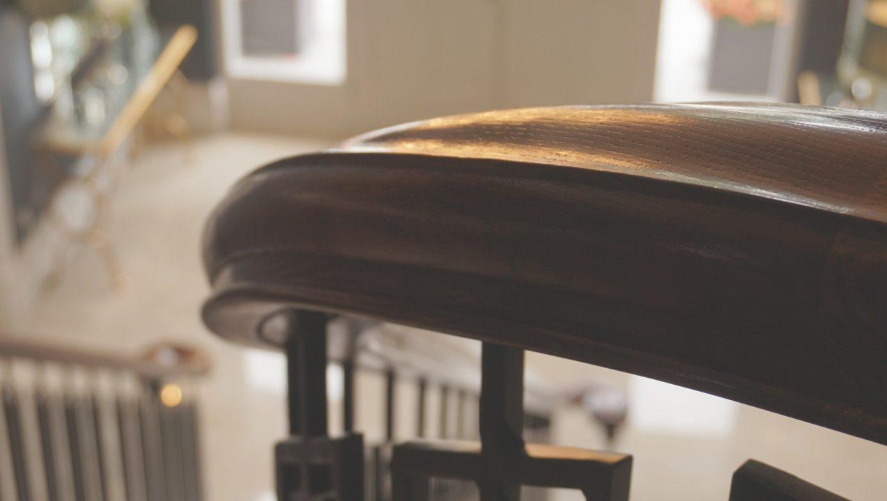 Timber v Metal Handrails by PT Handrails at Clive Durose