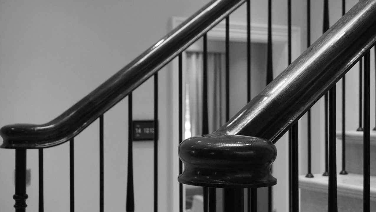 Staircase handrail precise craft from PT Handrails, Clive Durose, Hertfordshire