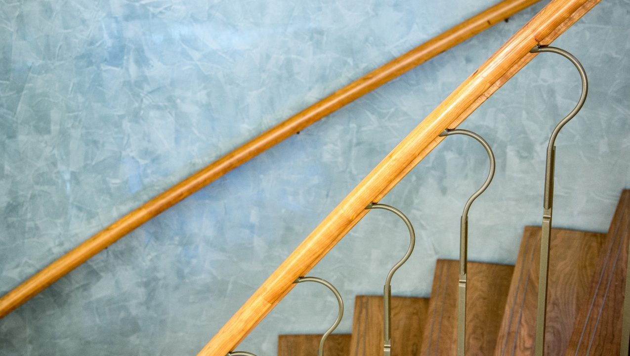 Bespoke handrails and spindles by PT Handrails at Clive Durose